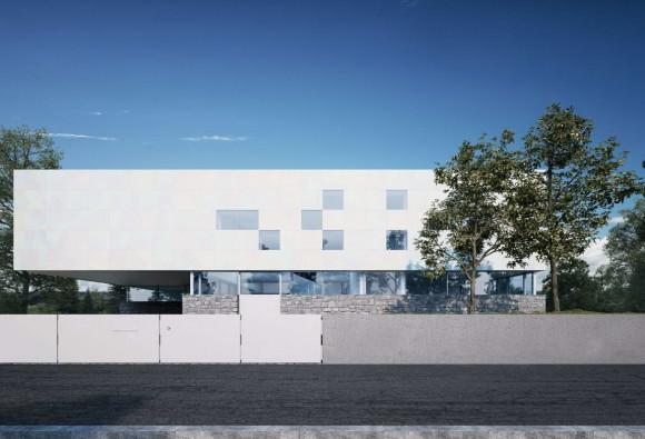 Проект загородного дома в Германии