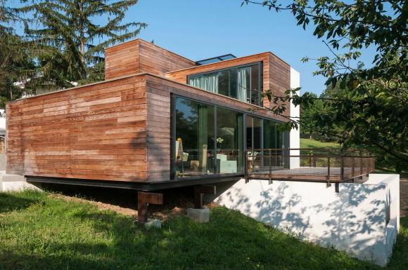 Дом на склоне во Франции