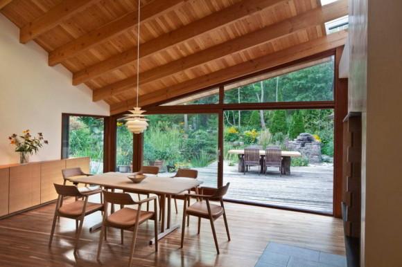 Реконструкция загородного дома в Канаде