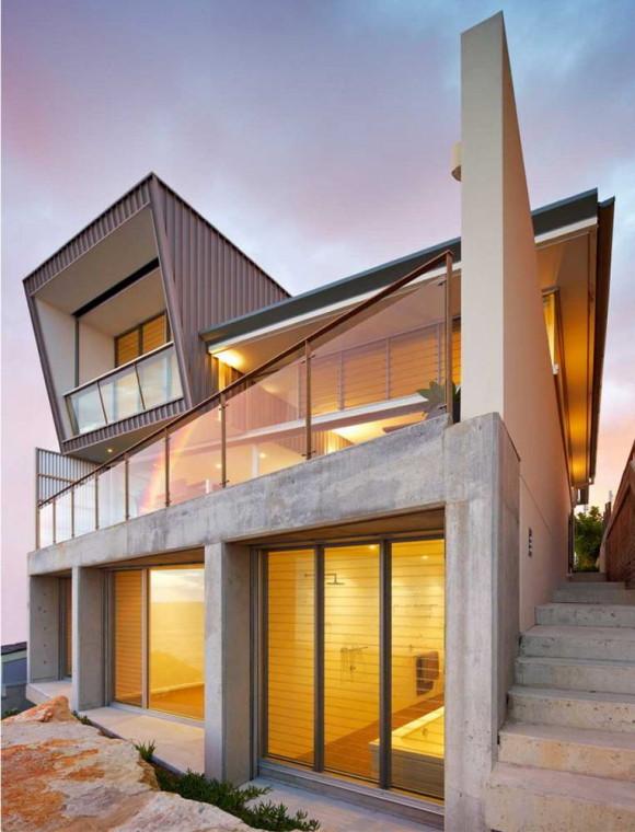 Дом на утёсе в Австралии