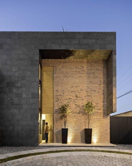 Городской дом в Мексике