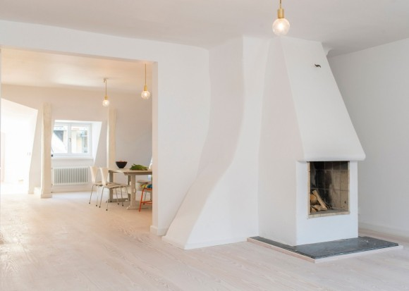 Квартира в Стокгольме (Stockholm Apartment 2) в Швеции от Studiomama.
