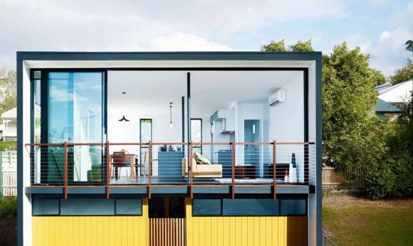 Садовый дом (Herston Gardenhouse) в Австралии от Refresh * Architecture.