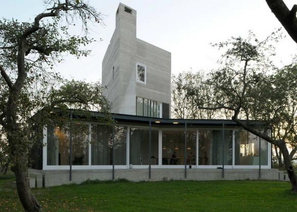 Бетонный дом в Голландии