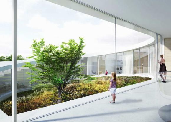 Проект спирального дома в Дании