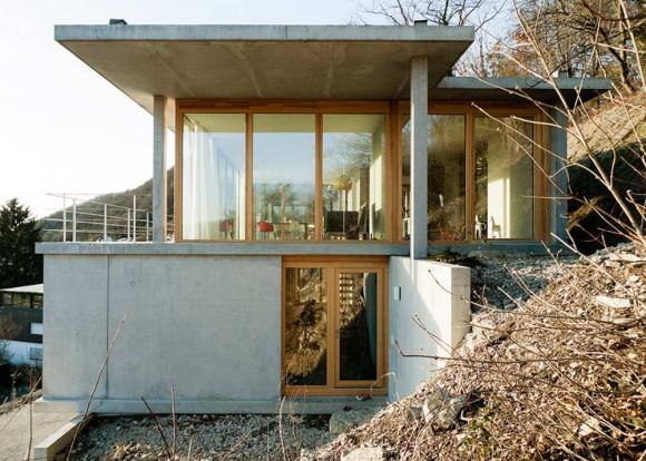 Wohnhaus am hang 4