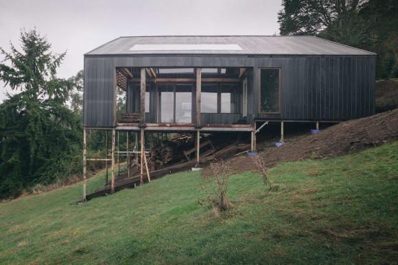 Дом на склоне в Чили