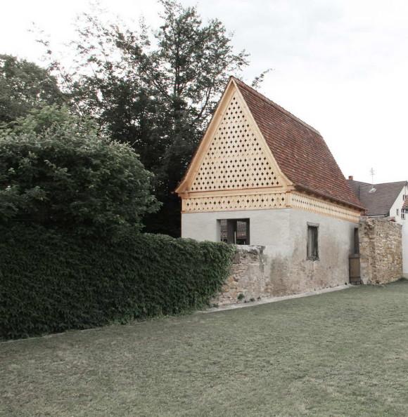 Садовый дом (Garden House) в Германии от Vecsey & Schmidt Architekten.