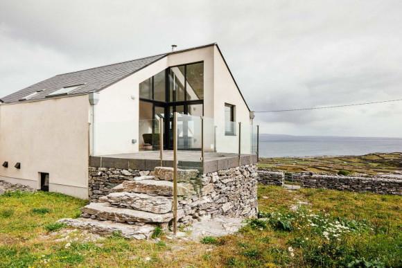 Дом на острове (Island Dwelling) в Ирландии от O'Neill Architecture.