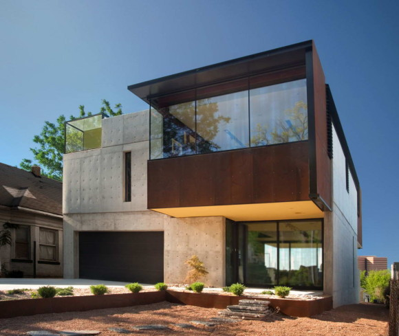 Дом в Оклахоме (Oklahoma Case Study House) в США от Fitzsimmons Architects.