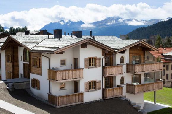 Квартира-шале в Швейцарии