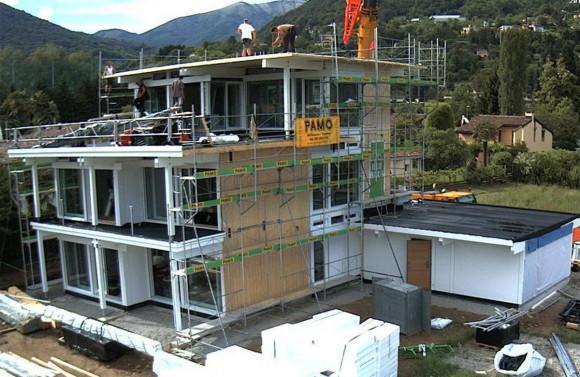 Загородный дом HUF HAUS в Швейцарии