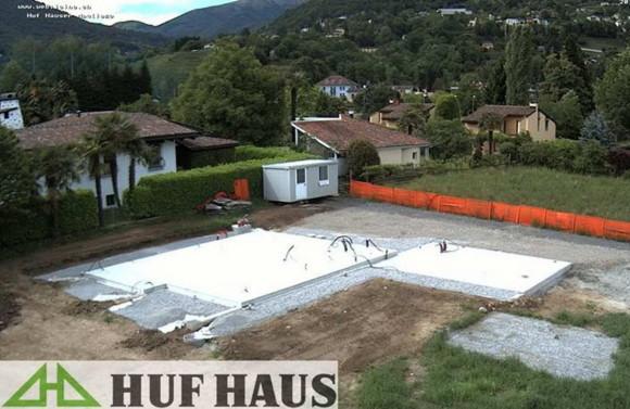 Costruzione di una casa HUF HAUS in legno a Magliaso 5