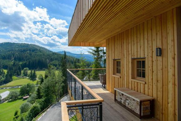 Architekturfotos - neue Chalets am Steirereck Pogusch
