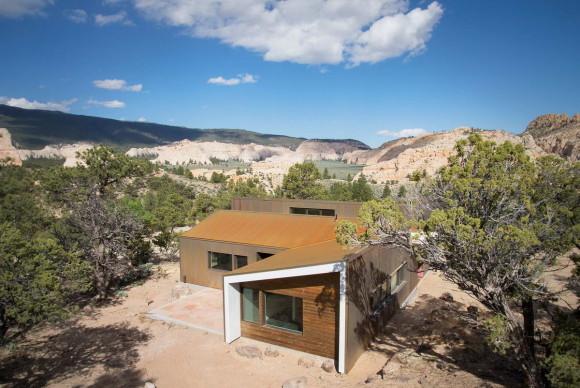 Дом в пустыне (High Desert Dwelling) в США от Imbue Design.