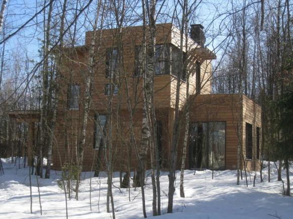 Дом в Кубинке (House in Kubinka) в России от Татьяны Белобородько.
