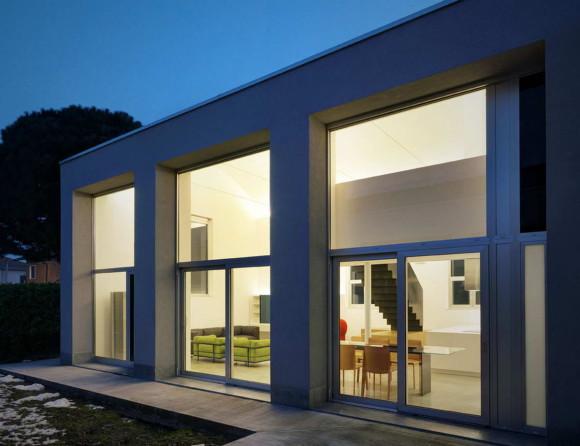 Лофт ПАР (Loft PAR) в Италии от Buratti Architetti.
