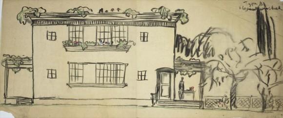 Проект Дом-Ино (Maison Dom-Ino) архитектора Ле Корбюзье (Le Corbusier).
