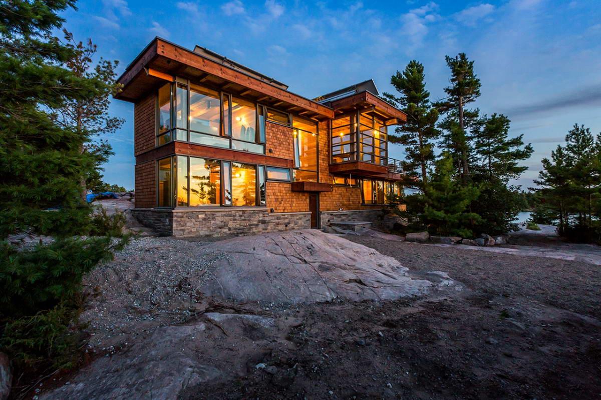 Дизайн домов в канаде