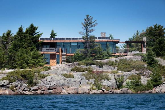 Загородный дом в Канаде