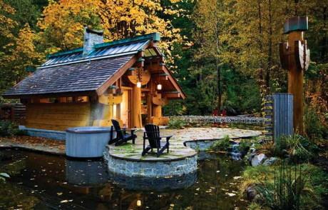 Дом «Тотемы» (Totems House) в Канаде от Henry Yorke Mann.