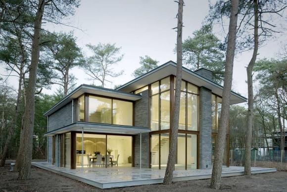 Лесной дом в Голландии
