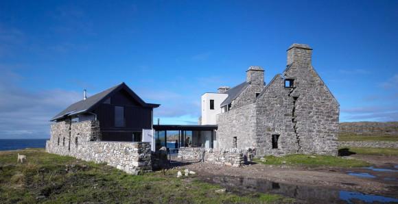 Каменный дом в Шотландии