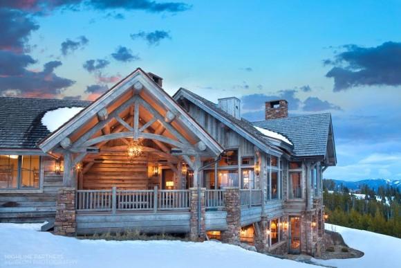 Деревянный дом (Wooden House) в США.