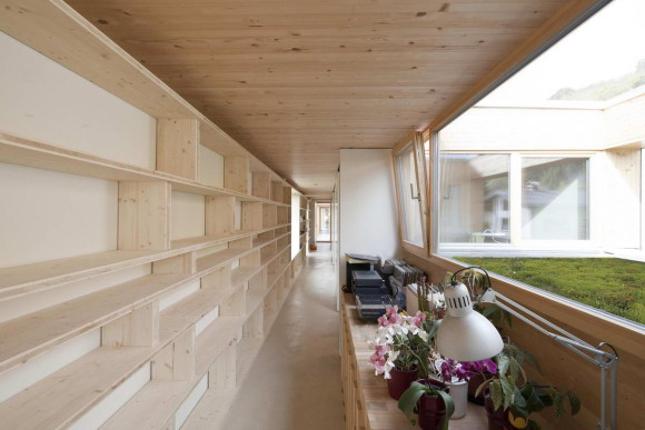 """Дом """"37 метров"""" (37m in Hohenems) в Австрии от Juri Troy Architects."""