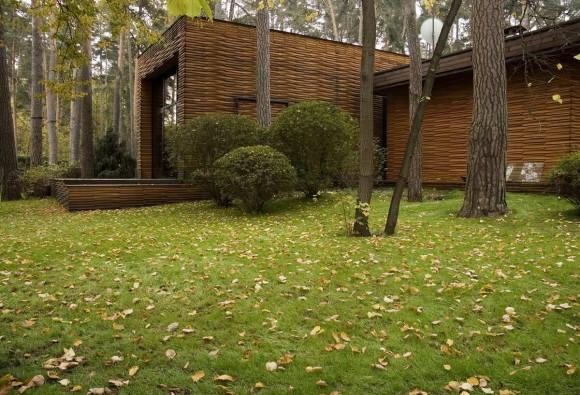 Загородный дом в России