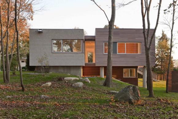 Дом у реки (Westport River House) в США от RUHL WALKER Architects.
