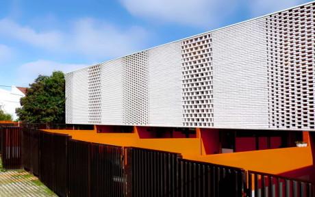 5 блокированных домов (5 Casas en Bloque) в Аргентине от Francisco Cadau.