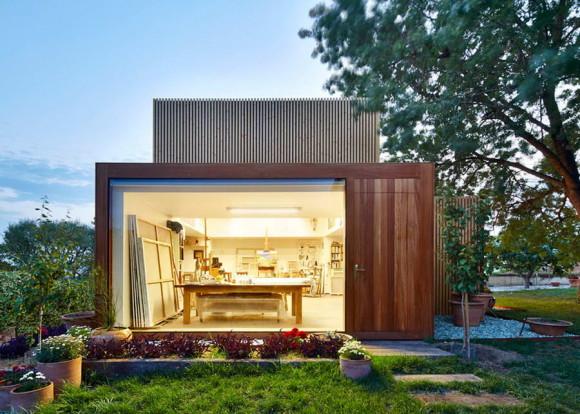 Студия художника (Artists Studio) в Испании от Arquitecturia.