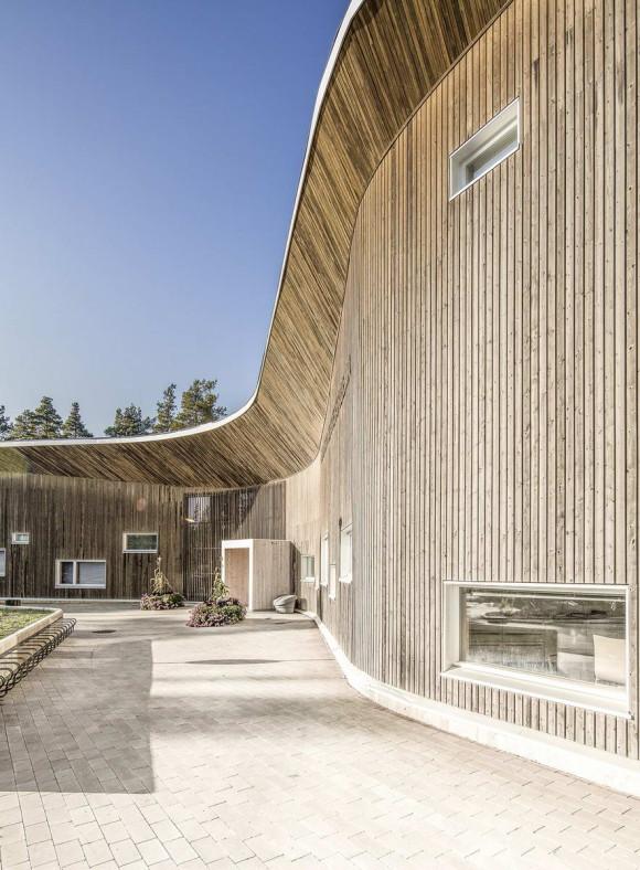 Клиника Руукки (Health Clinic Ruukki) в Финляндии от alt Architects.