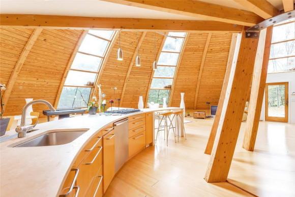 House Shaped Like a Flying Saucer 11