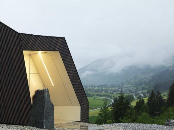 Дом с видом на горы (Mountain View House) в Австрии от SoNo Arhitekti.