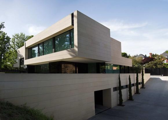 Дом Парк (Park House) в Испании от A-cero.