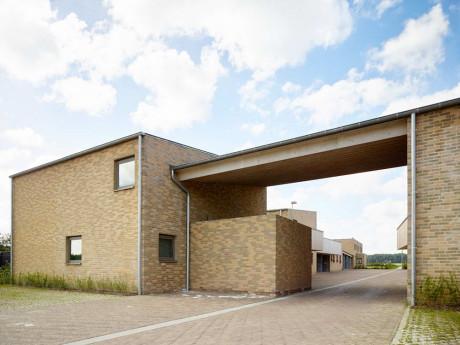 Социальное жильё в Бельгии (Social housing Zingem) в Бельгии от Volt Architecten.