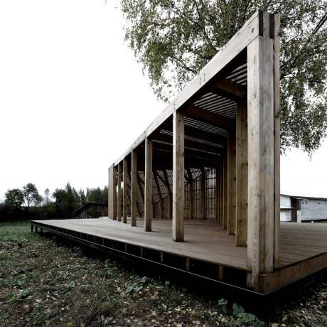 Летний павильон в России от Khachaturian Architects.