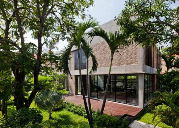 Обновление виллы (Villa Renovation) во Вьетнаме от MM++ Architects.