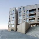 Жилой комплекс «Береговая линия» (The Waterfront) в Норвегии от AART architects и Studio Ludo.