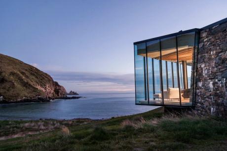 Домик для медового месяца в Новой Зеландии