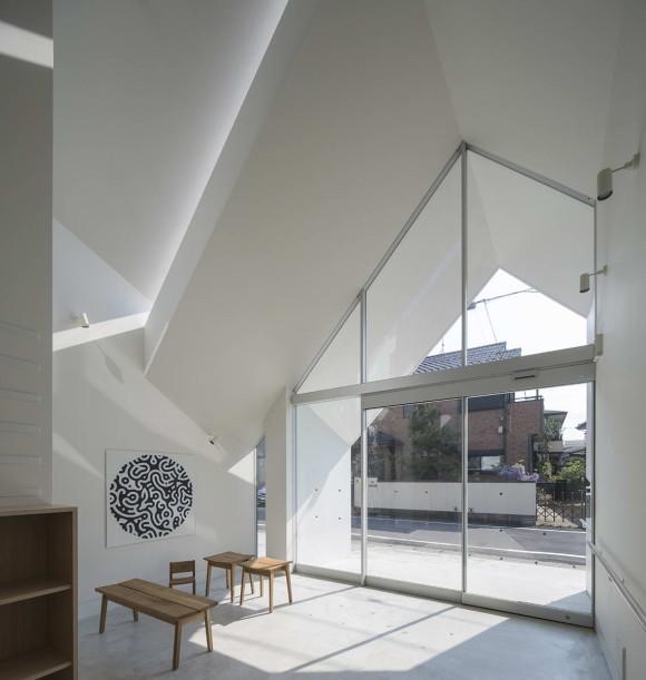 Клиника Асахихо (Asahicho Clinic) в Японии от hkl studio.