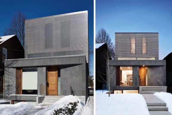 Дом Контрапункт (Counterpoint House) в Канаде от Paul Raff Studio Architects.