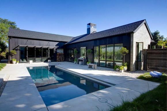 Сельский дом (Farmhouse) в США от A.D.D. Concept + Design.
