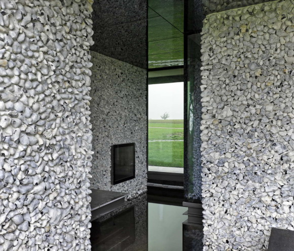 The Flint House, Waddesdon. Architect Charlotte Skene Catling
