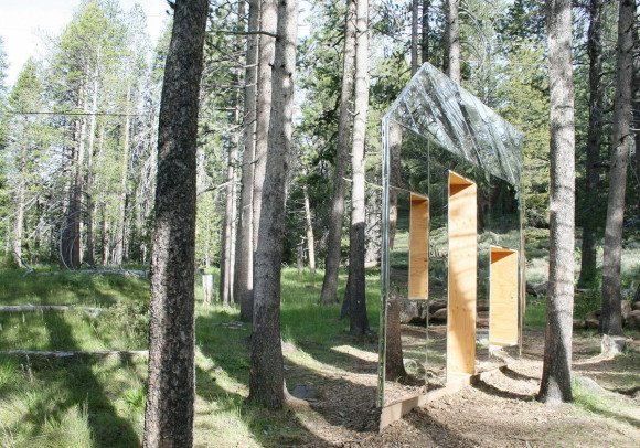 Невидимый сарай (Invisible Barn) в США от stpmj.