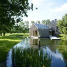 Убежище (Refuge) в Бельгии от Wim Goes Architectuur.