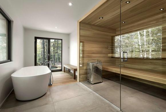 СПА-Дом (Spahaus) в Канаде от YH2 Architecture.