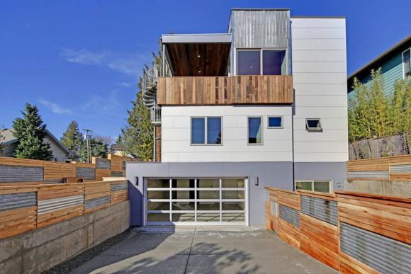 Устойчивый дом (Sustainable House) в США от Dwell Development.